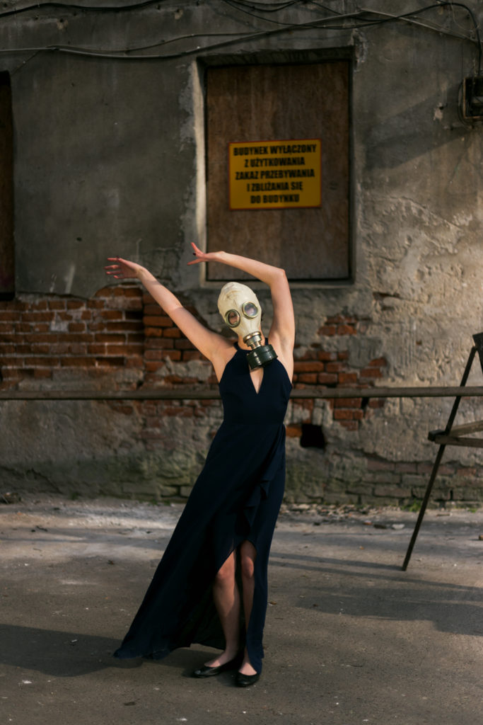 Portret kreacyjny. Foto Justyna Grochowska