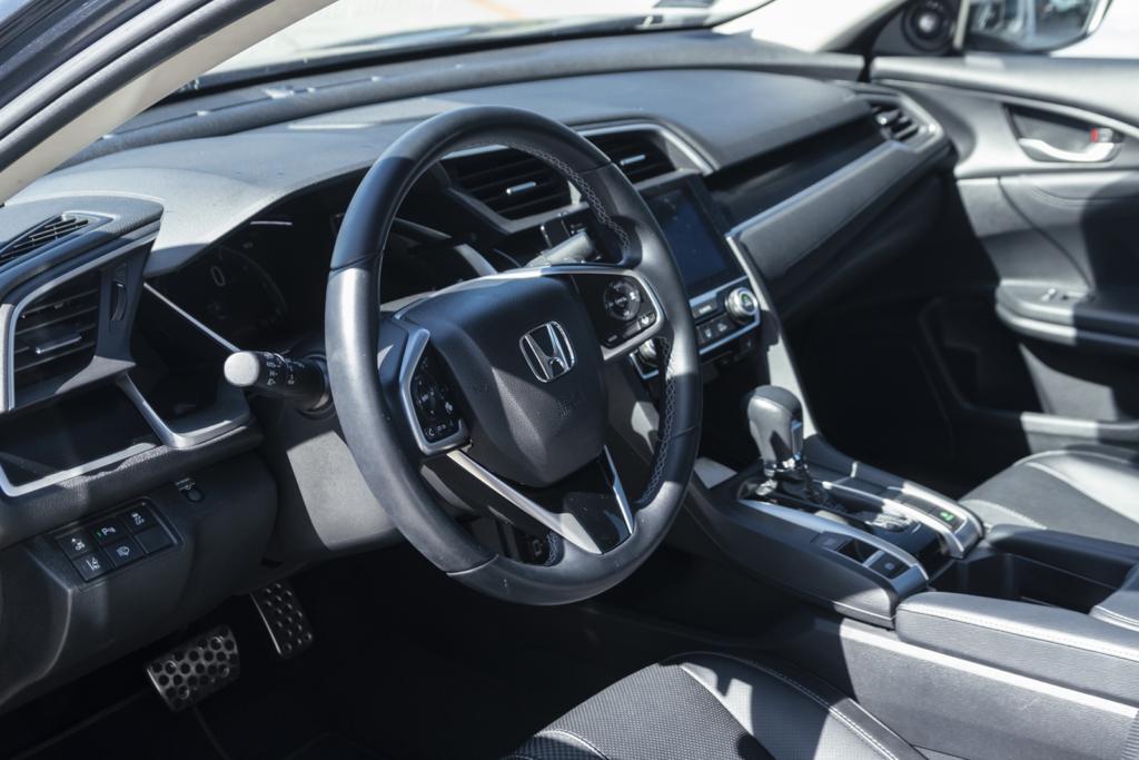 Honda Civic sedan. Foto Justyna Grochowska