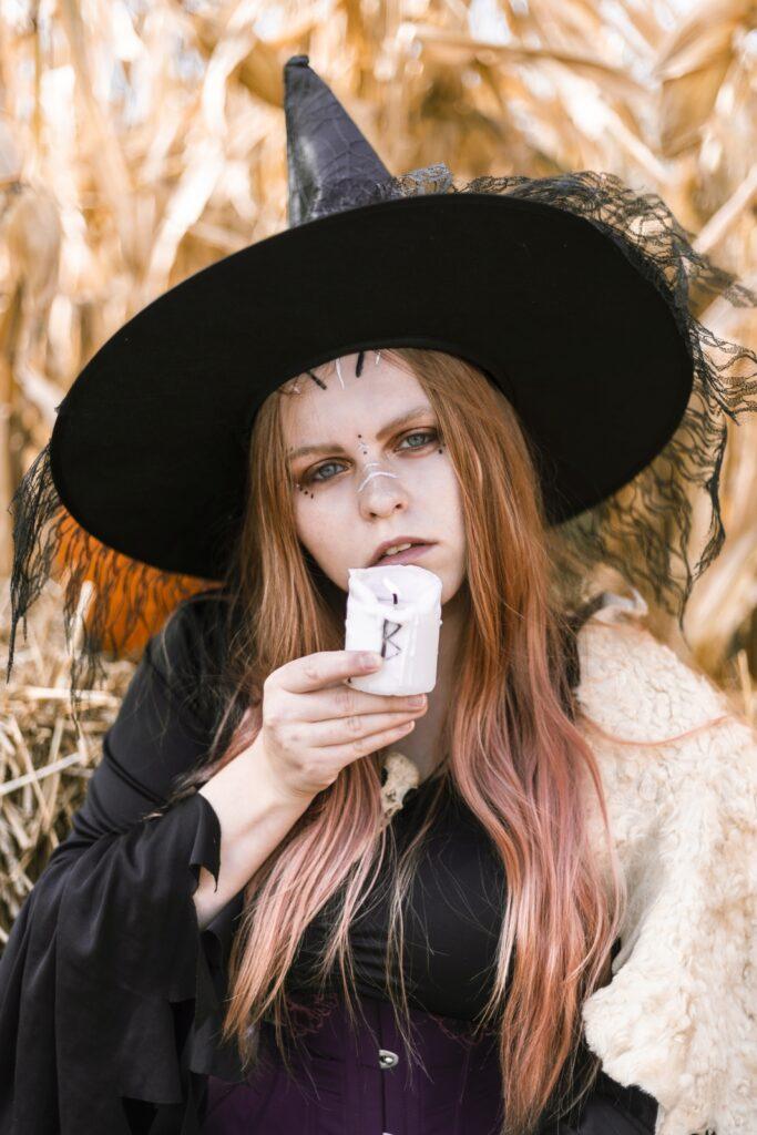Sesja halloweenowa. Foto Justyna Grochowska