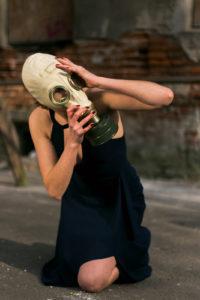 Dziewczyna stalkera. Foto Justyna Grochowska