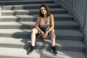 Lato w mieście - sesja portretowa. Foto Justyna Grochowska.